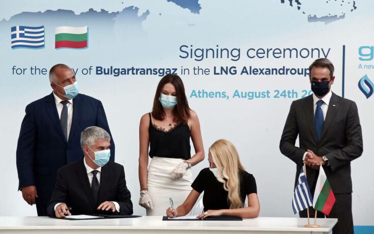 Νέα δεδομένα στον χώρο της ενέργειας: Υπογράφηκε η συμφωνία συμμετοχής της βουλγαρικής Bulgartransgaz στον τερματικό σταθμό LNG της Αλεξανδρούπολης