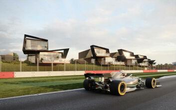 Οι πολυτελείς κατοικίες του Σίλβερστοουν συνδυάζουν κομψότητα και θέα στη... Formula 1