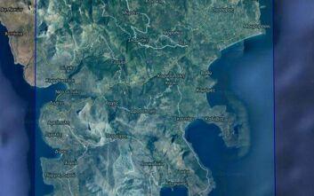 Ενεργοποιείται ο «Copernicus» για τη χαρτογράφηση της πληγείσας από την πυρκαγιά περιοχής στην Ανατολική Μάνη