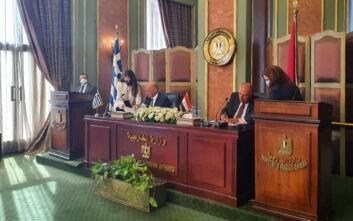 Ιστορική συμφωνία για Ελλάδα και Αίγυπτο - Έπεσαν οι υπογραφές για την ΑΟΖ