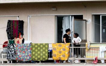 Διεθνής Οργανισμός Μετανάστευσης: Κανένα κρούσμα κορονοϊού σε δομή φιλοξενίας στον Μαραθώνα