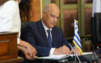 Δένδιας για συμφωνία με Αίγυπτο: Άμεσα στη Βουλή προς κύρωση - Το παρασκήνιο και η «λυσσώδης αντίδραση» της Άγκυρας
