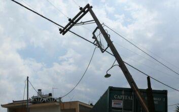 Εργασίες για την αποκατάσταση της ηλεκτροδότησης στην Εύβοια