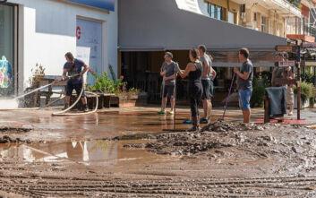 Εύβοια: Μάχη με τις λάσπες - Χωρίς πόσιμο νερό 4 χωριά