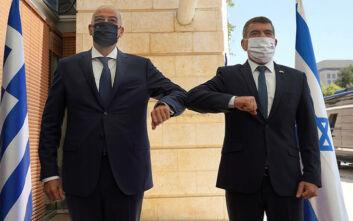 Στο Ισραήλ ο Νίκος Δένδιας: «Καλωσόρισες, καλέ μου φίλε, υπουργέ Εξωτερικών της Ελλάδας»