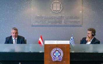 Αυστριακός υπουργός Εσωτερικών από τον Έβρο: Δεν υπήρξε κανένας δισταγμός να ενισχύσουμε την Ελλάδα