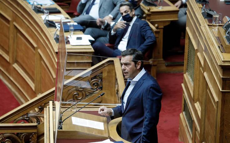 Τσίπρας: Ο κ. Μητσοτάκης βλέπει εδώ και 14 μήνες την υπουργό του να βλάπτει ανεπανόρθωτα τον Πολιτισμό