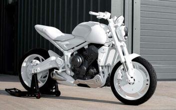 Η Triumph θα κυκλοφορήσει μια μοτοσυκλέτα σαν πραγματικό γλυπτό