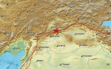 Σεισμός τώρα στην Τουρκία