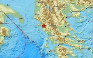 Σεισμός τώρα στην Ηγουμενίτσα
