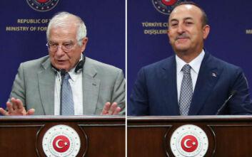 Συνάντηση Μπορέλ - Τσαβούσογλου για την αποκλιμάκωση των εντάσεων με την Τουρκία