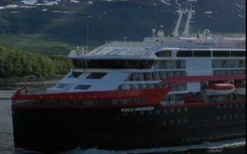 Υγειονομική «βόμβα» αποδείχθηκε κρουαζιερόπλοιο στη Νορβηγία - 40 άνθρωποι θετικοί στον κορονοϊό