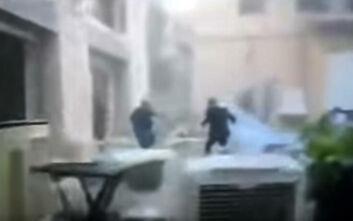 Έκρηξη στο Λίβανο: Η τρομακτική στιγμή που νύφη ενώ φωτογραφίζεται τρέχει να σωθεί