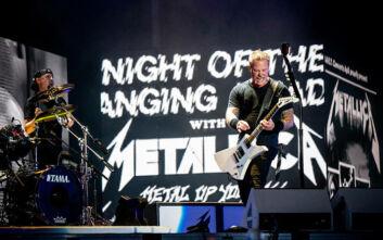 Οι Metallica επιστρέφουν στη σκηνή με συναυλία σε drive in