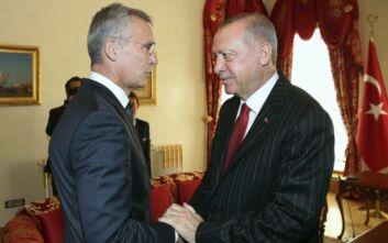 Τηλεφωνική επικοινωνία Ερντογάν - Στόλτενμπεργκ για την Ανατολική Μεσόγειο - «Η Τουρκία είναι υπέρ του διαλόγου»
