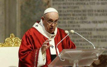 Παρέμβαση και του Πάπα Φραγκίσκου για την ένταση στην Ανατολική Μεσόγειο