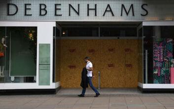 Τσουνάμι απολύσεων στη Βρετανία: Τα πολυκαταστήματα Debenhams θα καταργήσουν 2.500 θέσεις εργασίας