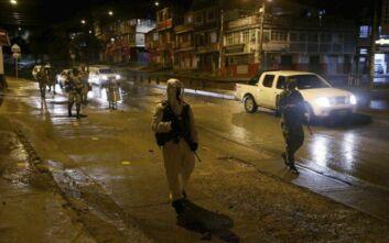 Κολομβία: 33 νεκρούς μέσα σε 11 ημέρες έχουν αφήσει ένοπλες οργανώσεις που δραστηριοποιούνται στη διακίνηση ναρκωτικών