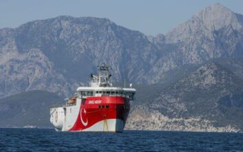 «Πόλεμος νεύρων» της Τουρκίας στο Αιγαίο με την ξαφνική αλλαγή ρότας του Oruc Reis