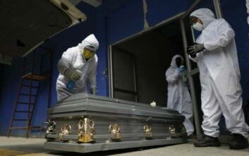 Ξεπέρασαν τα 3,5 εκατομμύρια τα κρούσματα μόνο στη Βραζιλία, πάνω από 112.000 οι νεκροί
