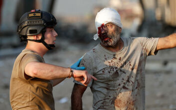 Συγκλονιστικές μαρτυρίες από γιατρούς στη Βηρυτό: «Είναι δύσκολο να λες σε πατέρα που έφερε το κοριτσάκι του για να το σώσουμε ότι έχει πεθάνει»