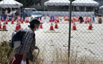 Κούρσα θανάτου στις ΗΠΑ: Άλλοι 1.262 νεκροί και 53.000 νέα κρούσματα κορονοϊού