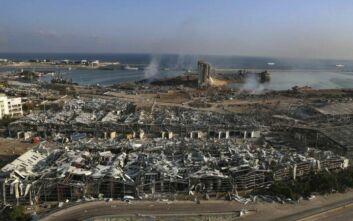 Ισοπεδώθηκε η Βηρυτός: Διαλύθηκαν 300.000 κτίσματα, 250.000 οι άστεγοι – Σοκαριστικά πλάνα από drone