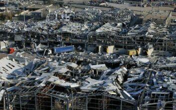 Πεδίο πολέμου θυμίζει η Βυρητός: Διαλυμένα όλα σε ακτίνα 7 χλμ - Το 70% των εκρήξεων εκτονώθηκε στη θάλασσα