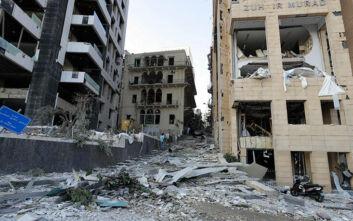 Μια γυναίκα ελληνικής καταγωγής φέρεται να έχει χάσει τη ζωή της από την έκρηξη στη Βηρυτό