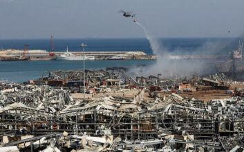 Ραγδαίες εξελίξεις στη Βηρυτό: Σε κατ' οίκον περιορισμό οι αξιωματούχοι που επέβλεπαν την αποθήκευση στο λιμάνι τα τελευταία 6 χρόνια