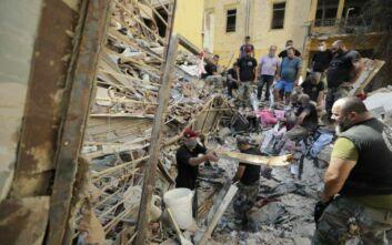 Πληροφορίες για Έλληνα νεκρό και 2 τραυματίες μετά τις φονικές εκρήξεις στη Βηρυτό