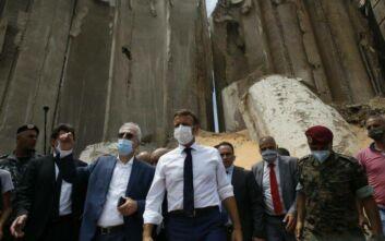 Φονικές εκρήξεις στη Βηρυτό: Ο Μακρόν θα επισκεφθεί και πάλι το Λίβανο 1η Σεπτεμβρίου