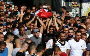 Παλαιστίνη: Θανάσιμος τραυματισμός 23χρονης στο περιθώριο συγκρούσεων με Ισραηλινούς στρατιώτες