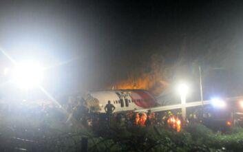 Αεροπορική τραγωδία στην Ινδία: Τουλάχιστον 16 οι νεκροί - 15 επιβάτες σε σοβαρή κατάσταση