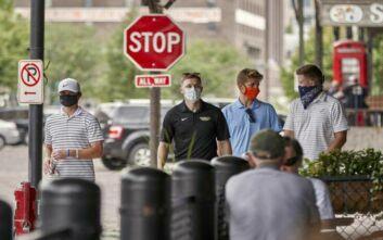 Επιπλέον 1.115 θάνατοι και 49.643 κρούσματα κορονοϊού καταγράφηκαν στις ΗΠΑ