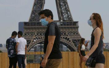 Γαλλία-κορονοϊός: Υποχρεωτική χρήση μάσκας σε πολυσύχναστες περιοχές στο Παρίσι