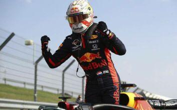 Θρίαμβος του Φερστάπεν και της Red Bull στην 70η επέτειο της F1