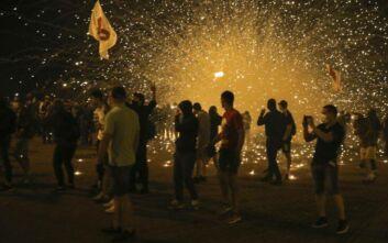 Συνεχίζονται οι συγκρούσεις στη Λευκορωσία: Δακρυγόνα και δεκάδες συλλήψεις