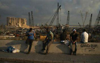 Φονικές εκρήξεις στη Βηρυτό:  171 οι νεκροί  - Ενός λεπτού σιγή την ώρα που η πόλη μετατράπηκε σε κόλαση