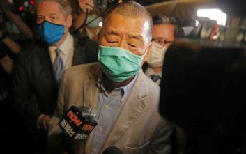 Χονγκ Κονγκ: Αφέθηκε ελεύθερος ο μεγιστάνας του Τύπου Τζίμι Λάι