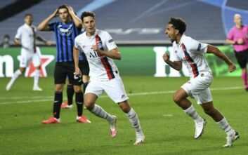 Champions League: Επική ανατροπή για την Παρί, που νίκησε με 2-1 την Αταλάντα