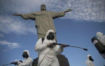 Εκτινάχθηκαν πάλι νεκροί και κρούσματα στη Βραζιλία: 1.271 θάνατοι σε 24 ώρες