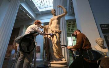 Βρετανικό Μουσείο: Ξεσκονίζουν τα αγάλματα με ηλεκτρική σκούπα