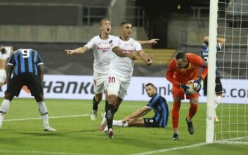 Europa League: Η Σεβίλλη νίκησε 3-2 την Ίντερ και σήκωσε την κούπα