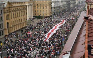 ΚΚΕ: Ε.Ε., ΝΑΤΟ και ΗΠΑ επεμβαίνουν στη Λευκορωσία