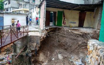 Δώδεκα νεκροί σε Αϊτή και Δομινικανή Δημοκρατία από την τροπική καταιγίδα Λάουρα