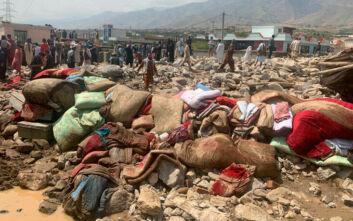 Σαράντα έξι νεκροί από τις πλημμύρες στο Αφγανιστάν - Άνθρωποι εγκλωβισμένοι στα συντρίμμια