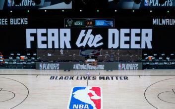 Η ιστορική «βόμβα» των Μιλγουόκι Μπακς στο NBA και το μήνυμα κατά της αστυνομικής βίας που συγκλονίζει