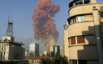 Ισχυρή έκρηξη στο λιμάνι της Βηρυτού - Δείτε βίντεο και live εικόνα από το σημείο
