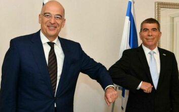 Oruc Reis: Και με τον ΥΠΕΞ του Ισραήλ μίλησε ο Δένδιας